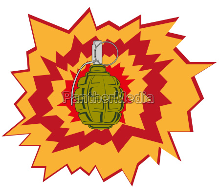 blast of the weapon grenade