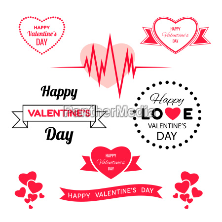 digital vector red heart texture valentine