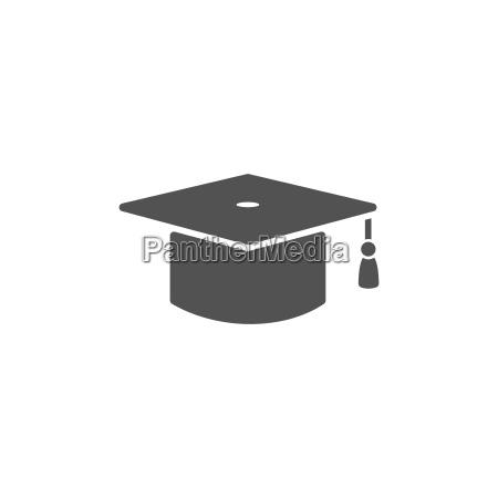 mortarboard icon for graduate