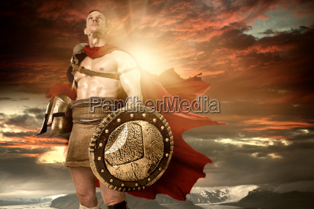 ancient, soldier, or, gladiator - 22719463