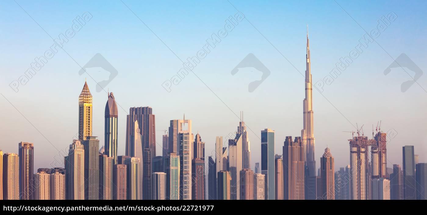 dubai, skyline, , uae - 22721977