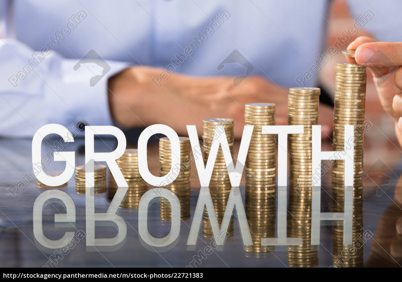 growth, text, in, front, of, coins - 22721383