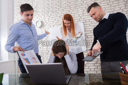 woman, fired, by, her, colleague - 22721287