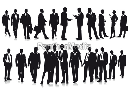 group picture of business people