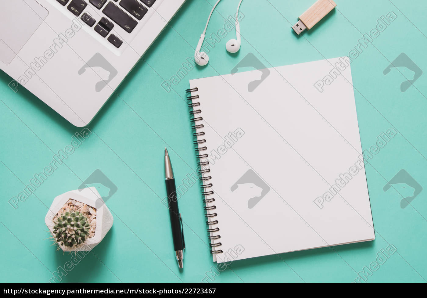 office, workplace, concept., computer, laptop, with - 22723467