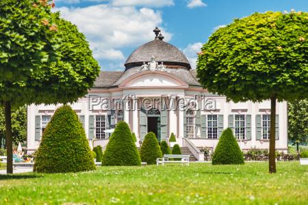 famous melk abbey garden pavilion in