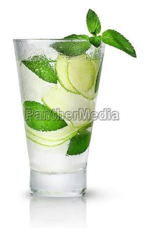 mojitos, in, sweaty, glass - 22729215