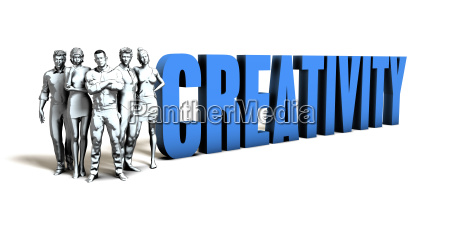 creativity business concept