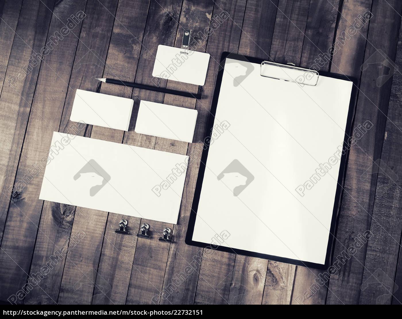 blank, stationery, set - 22732151