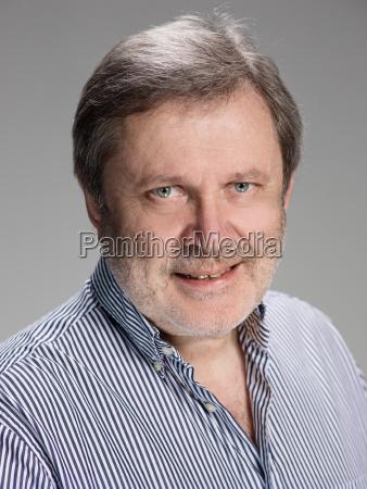 handsome, pensive, mature, businessman, is, looking - 22734715