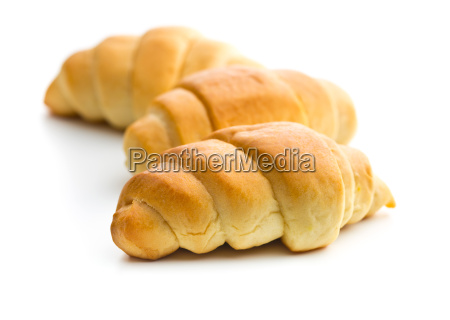tasty buttery croissants