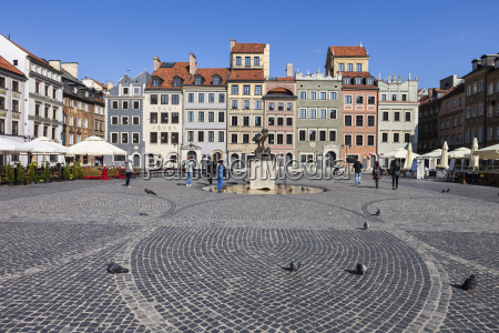 poland warsaw old town square