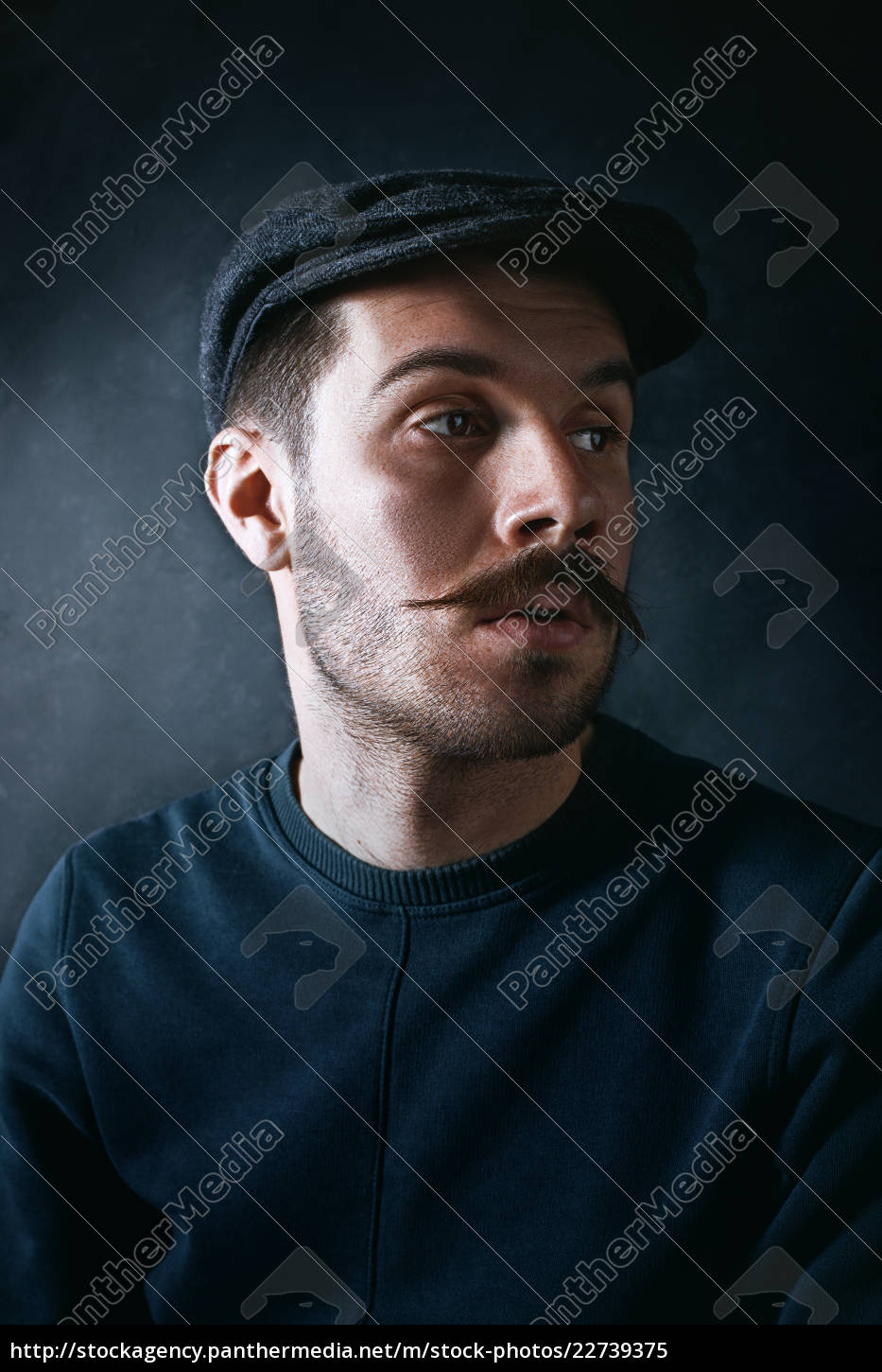 the, young, man, in, cap, at - 22739375