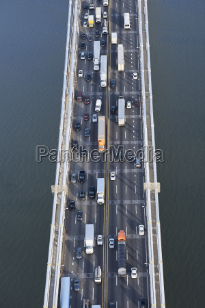 usa new york city traffic from