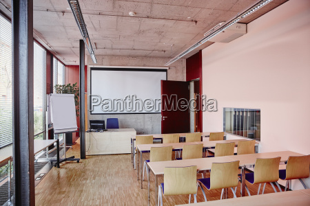 empty training room