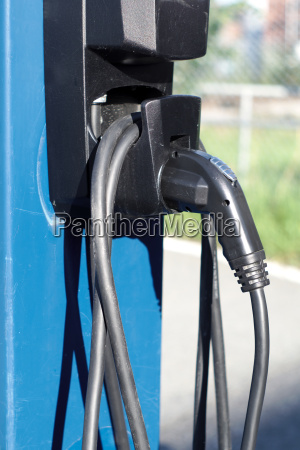 electric car energy station charger pump