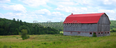 country landscape red barn agriculture outdoor