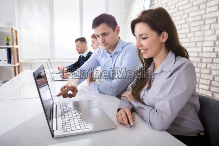 businessman, working, with, colleagues - 22763831