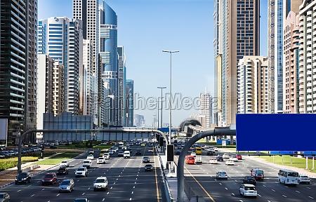 traffic jam at sheikh zayed road