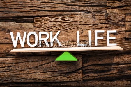 text work and life balancing on