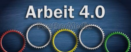 work 40 digital transformation gears