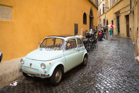 fiat car in rome