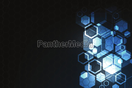 vector geometry in a technology concept