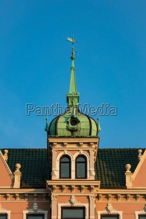 buildings in the hanseatic city of