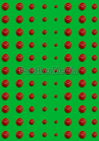 the seamless pattern of cherry berries