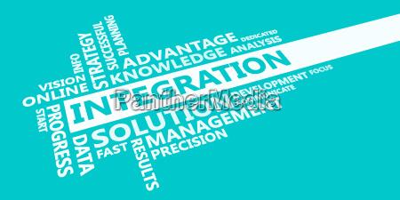 integration presentation background