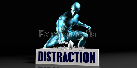 get rid of distraction