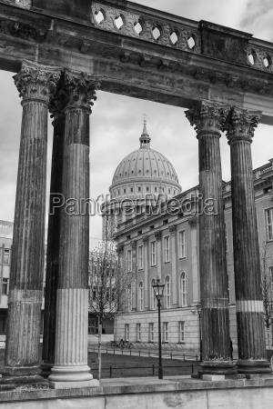 ensemble of historical buildings potsdam germany