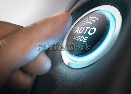 automatic mode engaged
