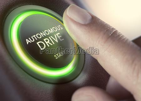 autonomous drive self driving vehicle
