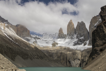 torres del paine in south america
