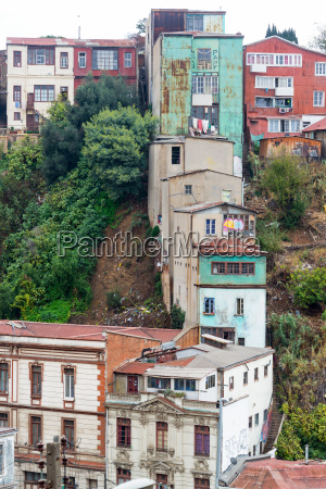 buildings on a steep hill in