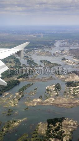 view of the zambesi river
