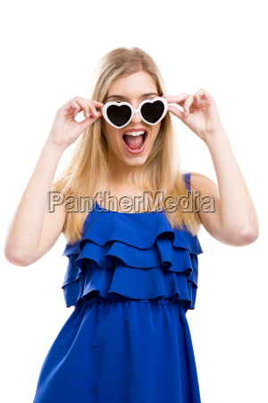 fashion woman with sunglasses