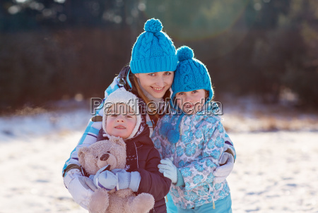 winter warmth for the whole family