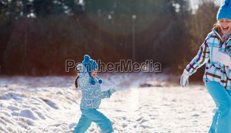 winter, fun - 22916783