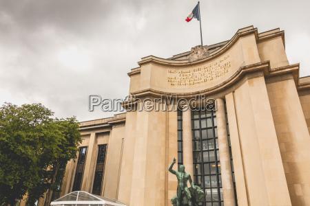 architecture detail of the palais de