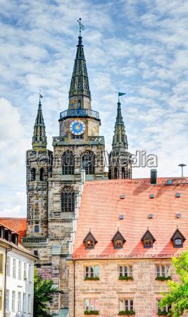 st gumbertus church in ansbach