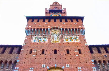 sforza s castle in milan