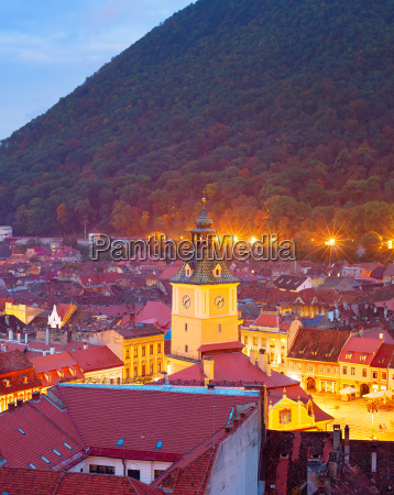 brasov old town romania