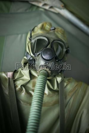 biological warfare suit