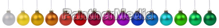 christmas balls christmas banner christmas balls
