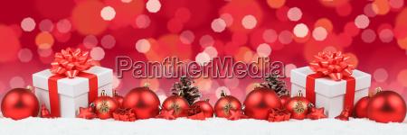 weihnachten geschenke weihnachtsgeschenke banner dekoration lichter