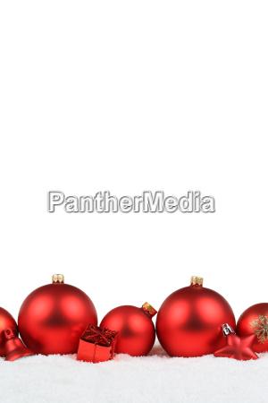 christmas red christmas balls decoration high