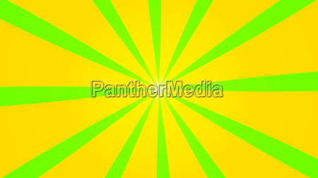 abstract background with animation of sun