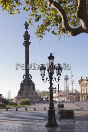 columbus monument monument a colom placa